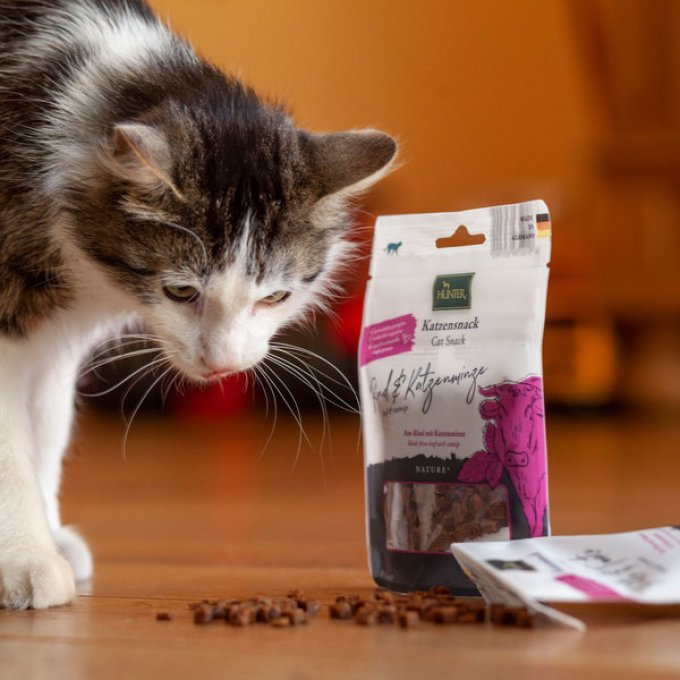 Friandises-chat-boeuf-catnip-hunter-chatchienprestige