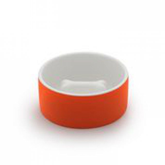 gamelle-ceramique-orange-anti-glouton-chatchienprestige