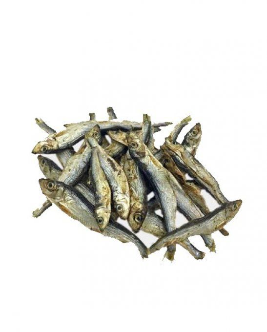 Petit-poisson-sprats-sauvage-friandise-naturelle-chatchienprestige
